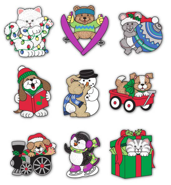 Holiday Buttons © Blumenthal/Lansing