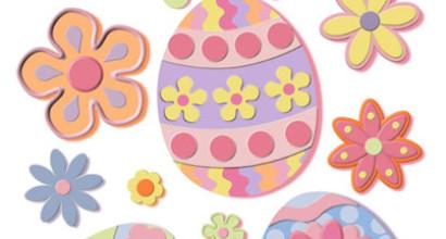 Easter Clings Designs