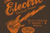 Rock Guitar Boys/young Mens Screenprint