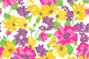 Funky Vintage Floral