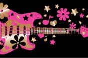 Girls Guitar Junior screenprint