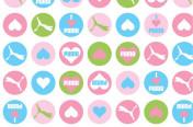Puma Girls Button print