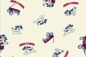 Radio Flyer Wagon Pup print