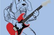 Rock Dog Screen Print