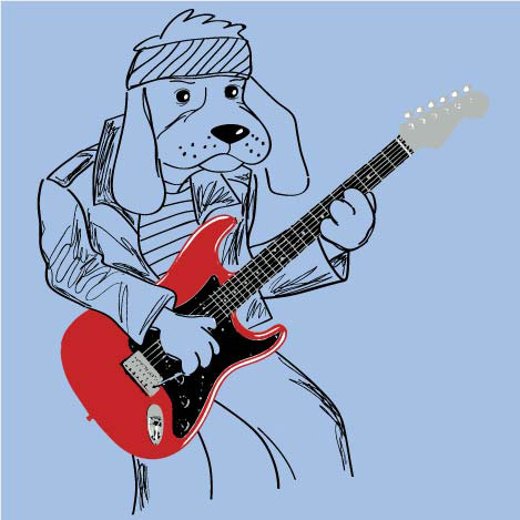 Rock Dog Screen art