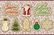 Holiday Vintage Buttons © Blumenthal/Lansing