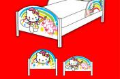 Hello Kitty Rainbow Bed