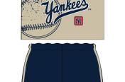 Yankees Boys Shortset