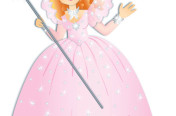 Glinda the Good Witch Illustration