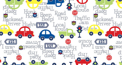 Car Print with Words