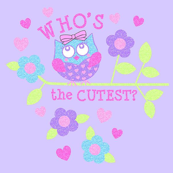 Who's the Cutest Glitter Screen